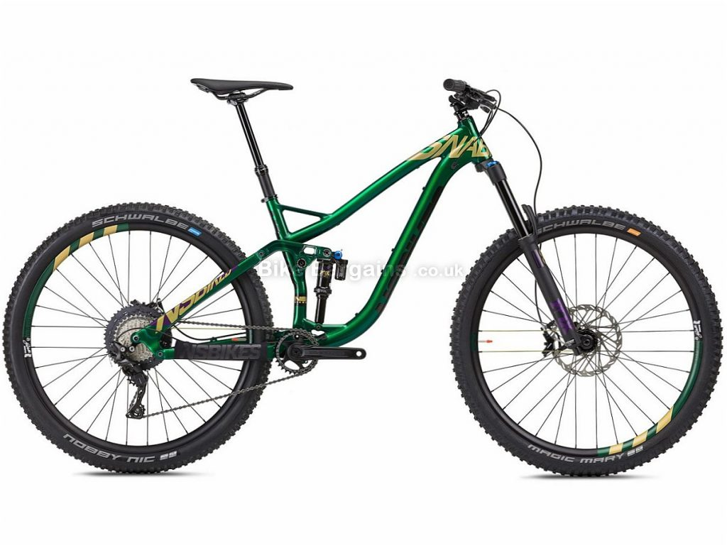 "NS Bikes Snabb 150 Plus 1 29"" Alloy Full Suspension Mountain Bike 2018 15"", Green, Yellow, 11 speed, Alloy, 29"", Full Suspension, 14.2kg"