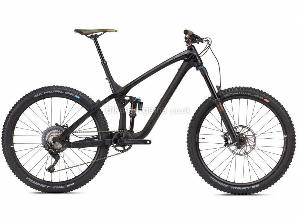 "NS Bikes Snabb 160 C2 27.5"" XT Carbon Full Suspension Mountain Bike 2018 17"", 19"", Black, Carbon, 27.5"", 11 Speed, 13.4kg"