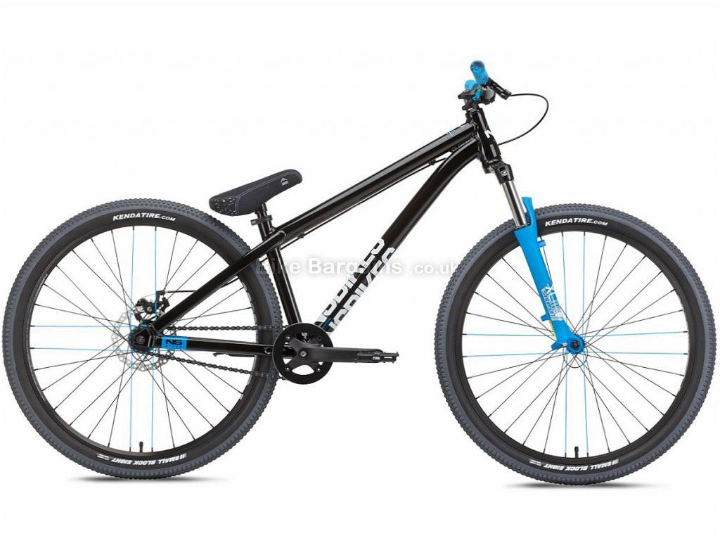 "NS Bikes Zircus Dirt Jump 26"" Alloy Hardtail Mountain Bike 2018 One Size, Black, Blue, Alloy, 26"", Single Speed, 12.4kg"