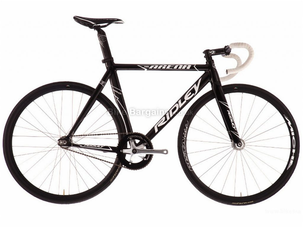 Ridley Arena Alloy Track Bike XS, Black, White, Alloy, Single Speed
