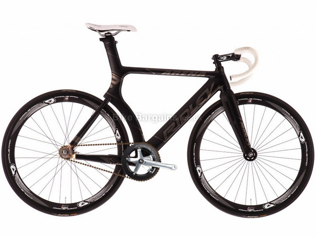 Ridley Arena C Carbon Track Bike L, Black, Grey, Carbon, Single Speed
