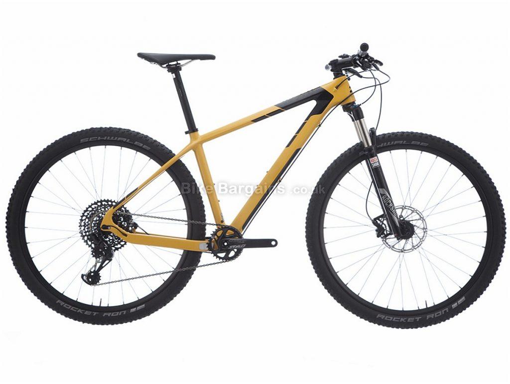 Ridley Ignite C29 Deore 29 Carbon Hardtail Mountain Bike M, Yellow, Black, Hardtail, Carbon, 10 Speed