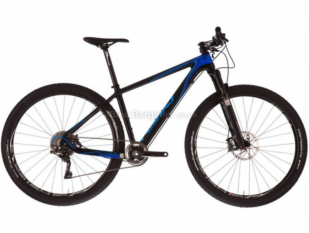 Ridley Ignite CSL XTR 27.5 Carbon Hardtail Mountain Bike M, Black, Blue, Hardtail, Carbon, 11 Speed