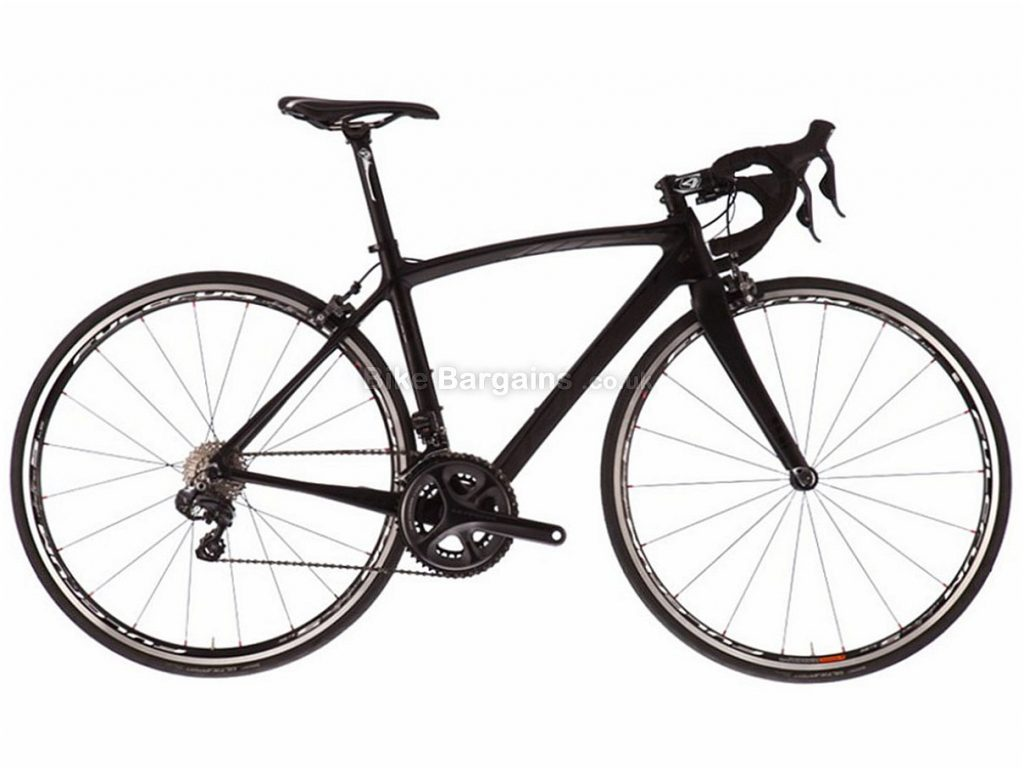 Ridley Liz C20 Ultegra Di2 Ladies Carbon Road Bike XS, Black, Carbon, 11 speed, Calipers, 700c