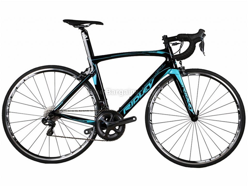 Ridley Noah SL Ultegra Di2 Carbon Road Bike XXS, Black, Blue, Red, Carbon, 11 speed, Calipers, 700c