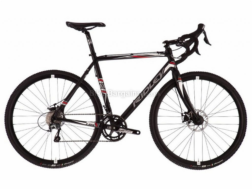Ridley X-Bow Tiagra Canti Alloy Cyclocross Bike M, Black, Alloy, 700c, 20 speed, Caliper