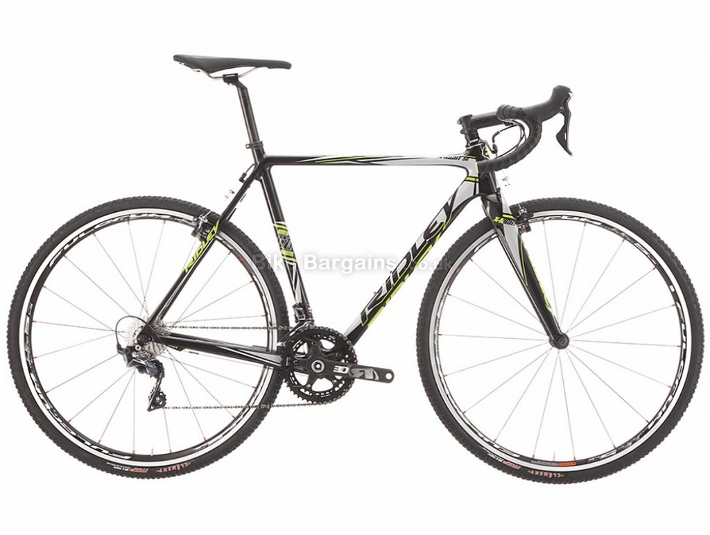 Ridley X-Night SL Ultegra Canti Carbon Cyclocross Bike 2018 52cm, Grey, Carbon, 700c, 22 speed, Caliper