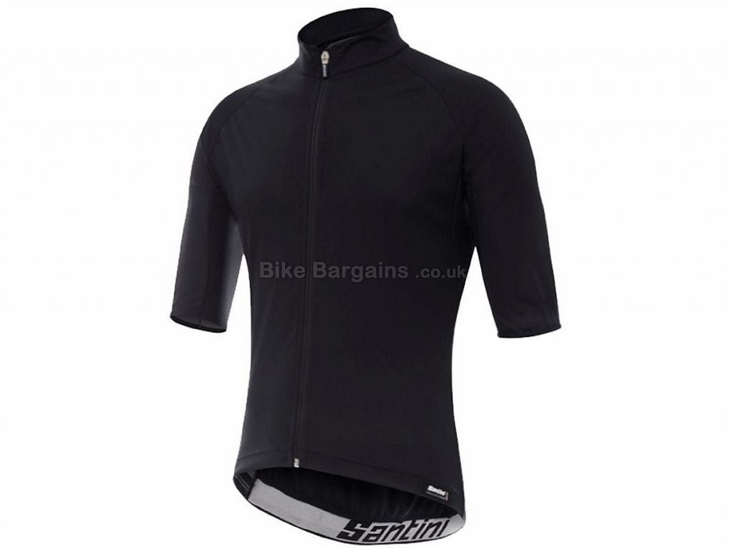 Santini Beta Light Wind Short Sleeve Jersey L,XXL, Black, Short Sleeve