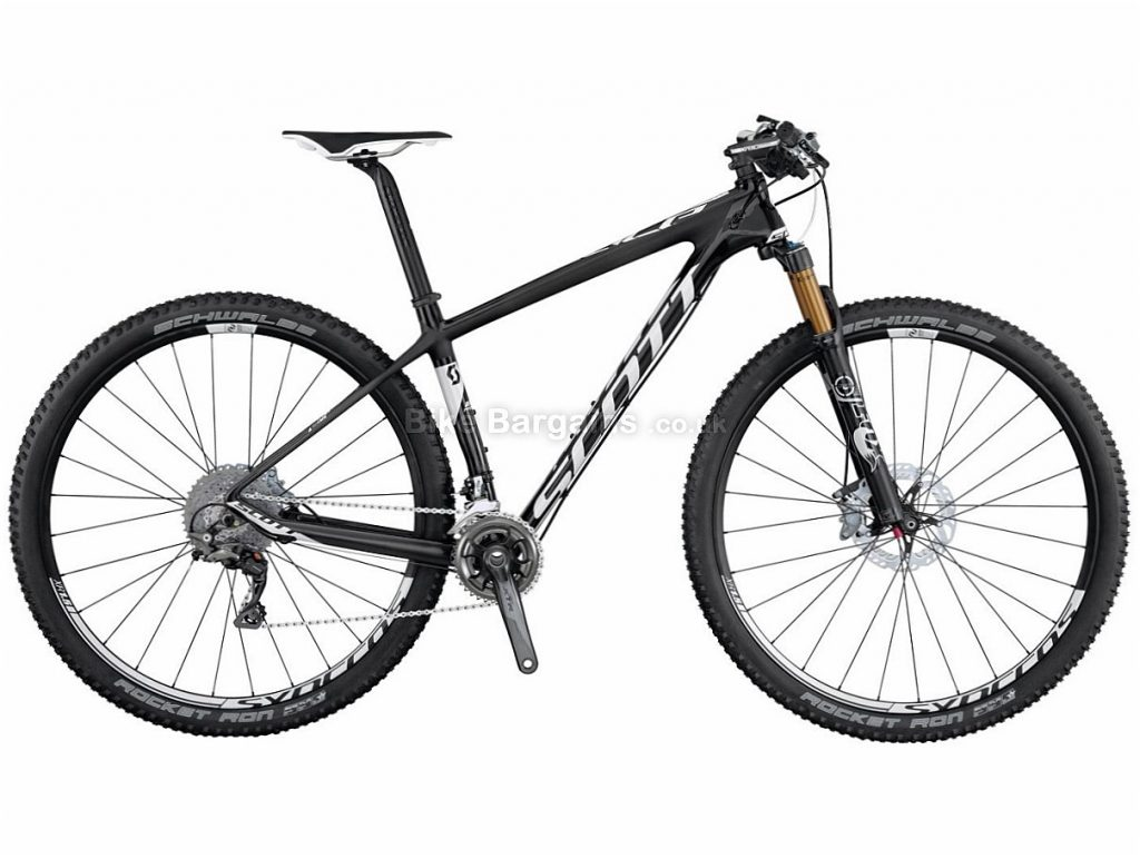 Scott Scale 900 Premium XTR 29 Carbon Hardtail Mountain Bike 2015 XL, Black, Hardtail, Carbon, 22 Speed