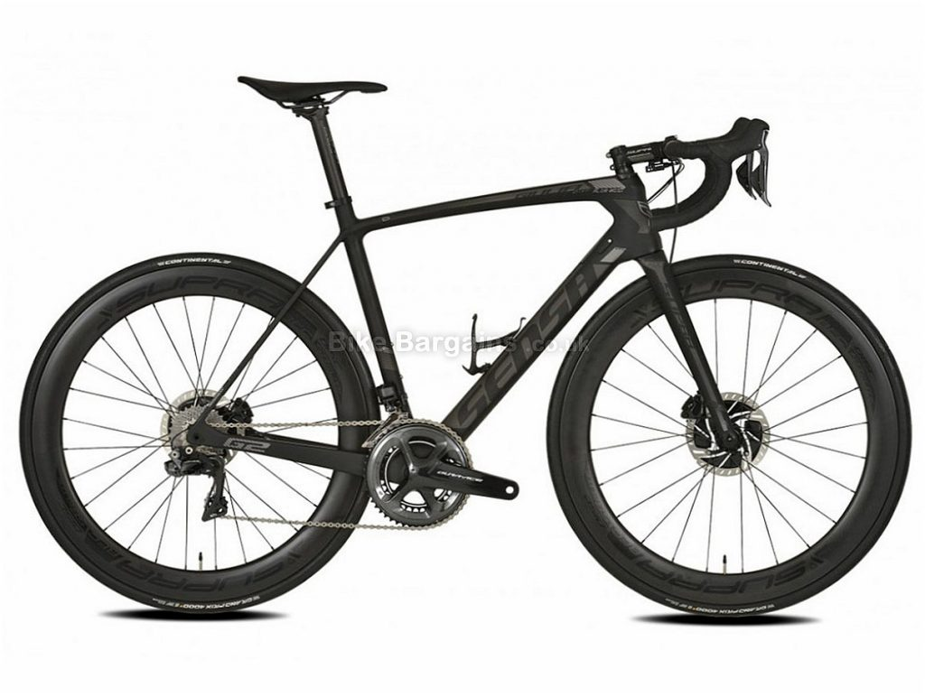 Sensa Giulia G2 Disc Custom Carbon Road Bike 2018 55cm, Black, Carbon, Disc, 11 speed, 700c