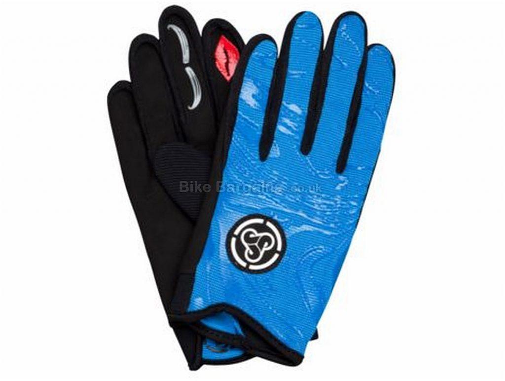 Sombrio Lily Ladies MTB Full Finger Gloves 2017 XL, Blue, Full Finger
