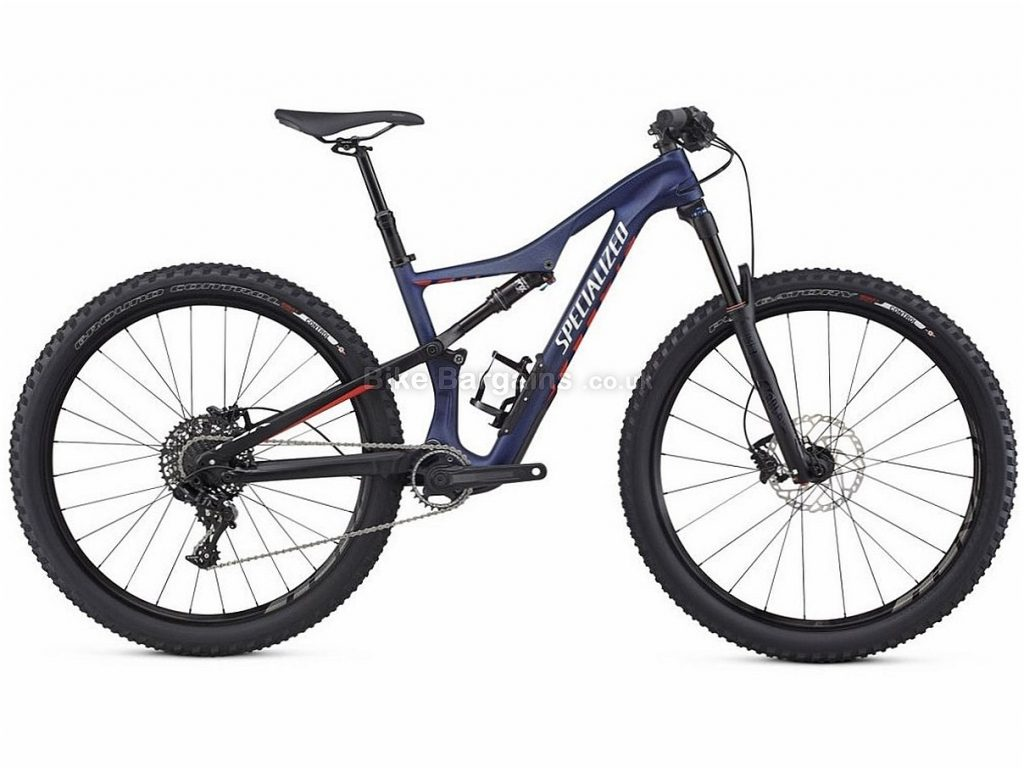 Specialized Camber Comp Ladies 27.5 NX Carbon Full Suspension Mountain Bike 2017 L, Blue, Full Suspension, Carbon, 11 Speed