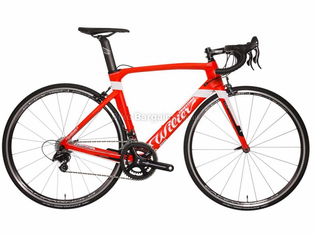 Wilier Cento1 Potenza Air Carbon Road Bike 2018 48cm,50cm,52cm,54cm, Red, White, Carbon, Calipers, 11 speed, 700c