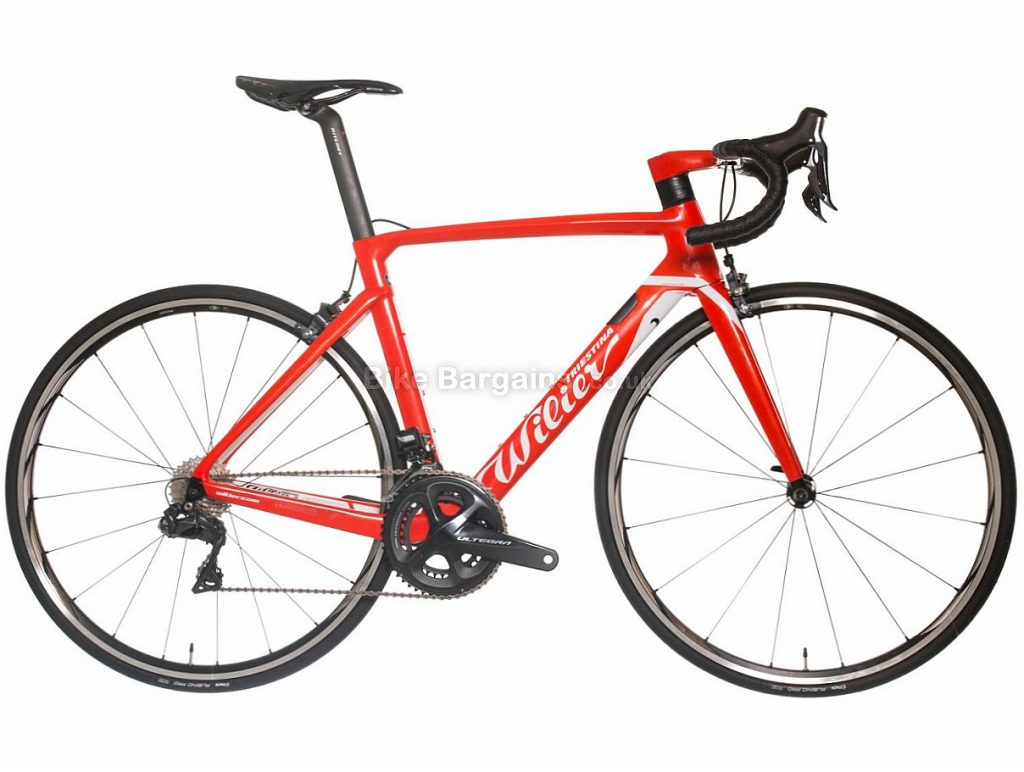 Wilier Cento10 Air Ultegra Di2 Carbon Road Bike 2018 S, Red, Carbon, Calipers, 11 speed, 700c, 7.75kg