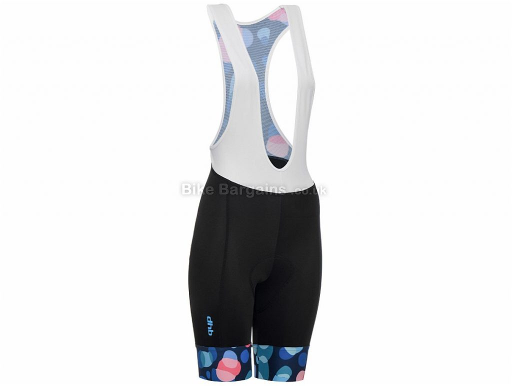 dhb Blok Ladies Bib Shorts 8, Black, Blue