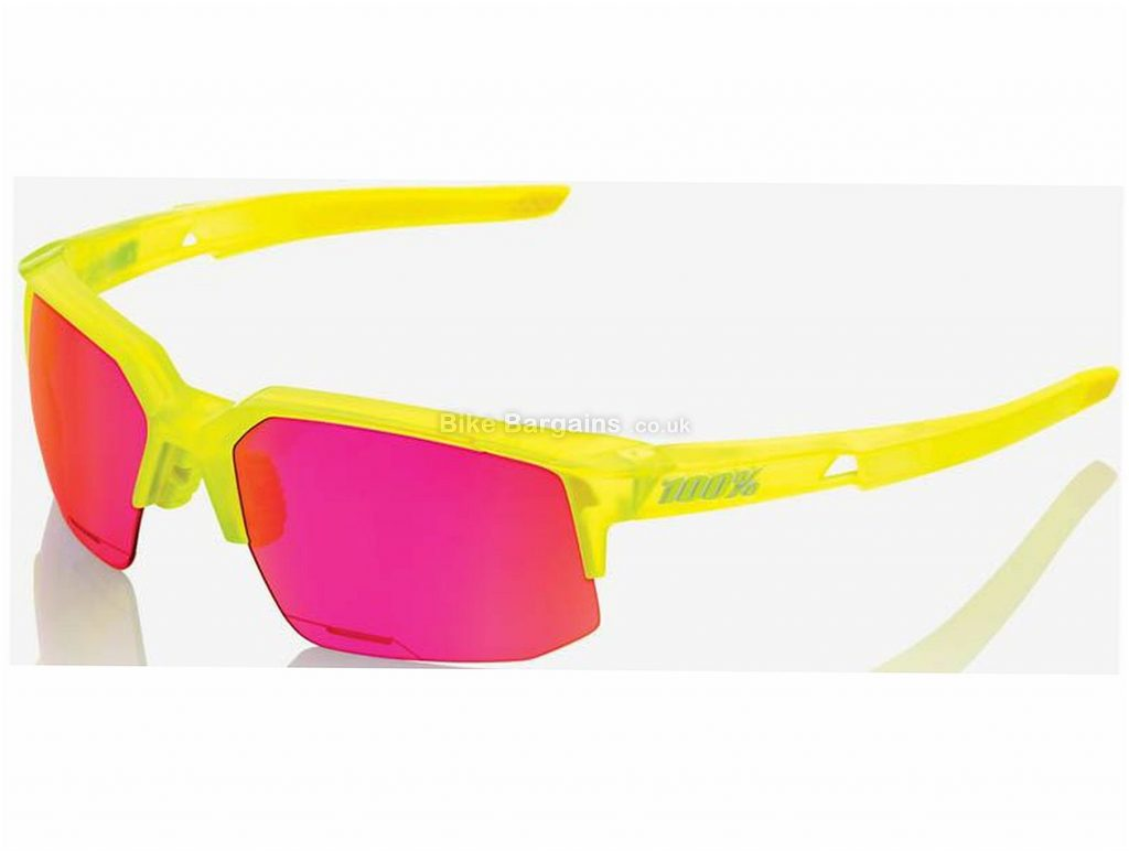 100% SpeedCoupe Performance Sunglasses 2016 Red, One Size
