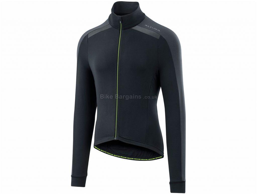 Altura Thermostat Long Sleeve Jersey 2018 XL, Black, Yellow, Long Sleeve