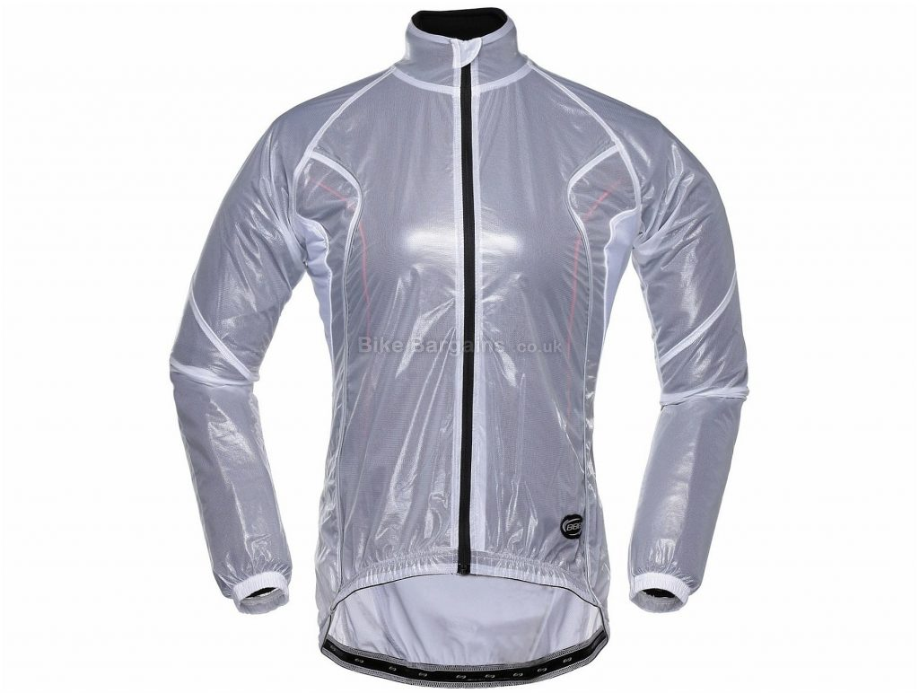 BBB BBW-145 RainShield Ladies Jacket XXL, White, Long Sleeve