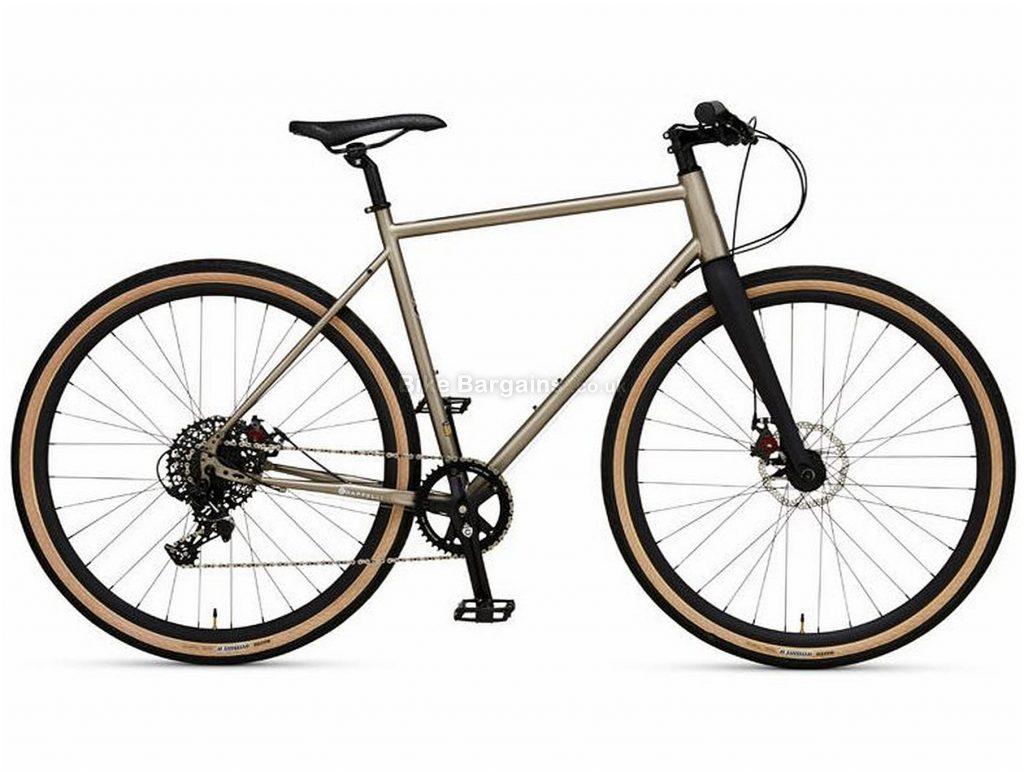 Chappelli Steel Cyclo-Cross Bike 2017 50cm, Silver, Black, Steel, 700c, 11 Speed