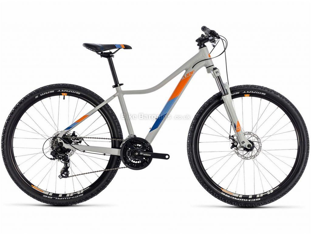"Cube Access WS Ladies 29"" Alloy Hardtail Mountain Bike 2018 17"", Grey, Orange, Alloy, 29"", 24 Speed, 100mm"