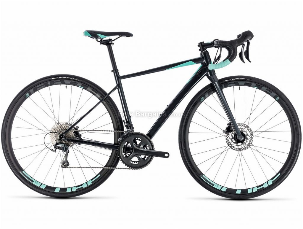 Cube Axial WS Race Ladies Disc Alloy Road Bike 2018 56cm, Black, Alloy, 700c, 10.3kg, 20 Speed, Disc