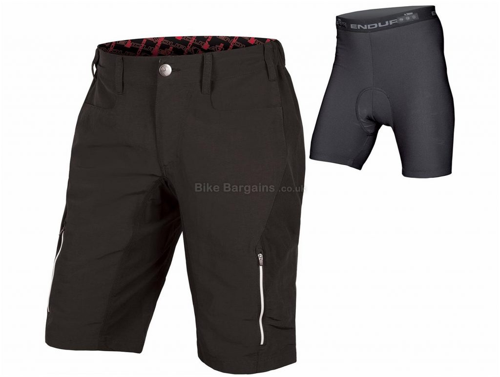 Endura SingleTrack III Baggy Lined Shorts 2017 L, XL, Blue