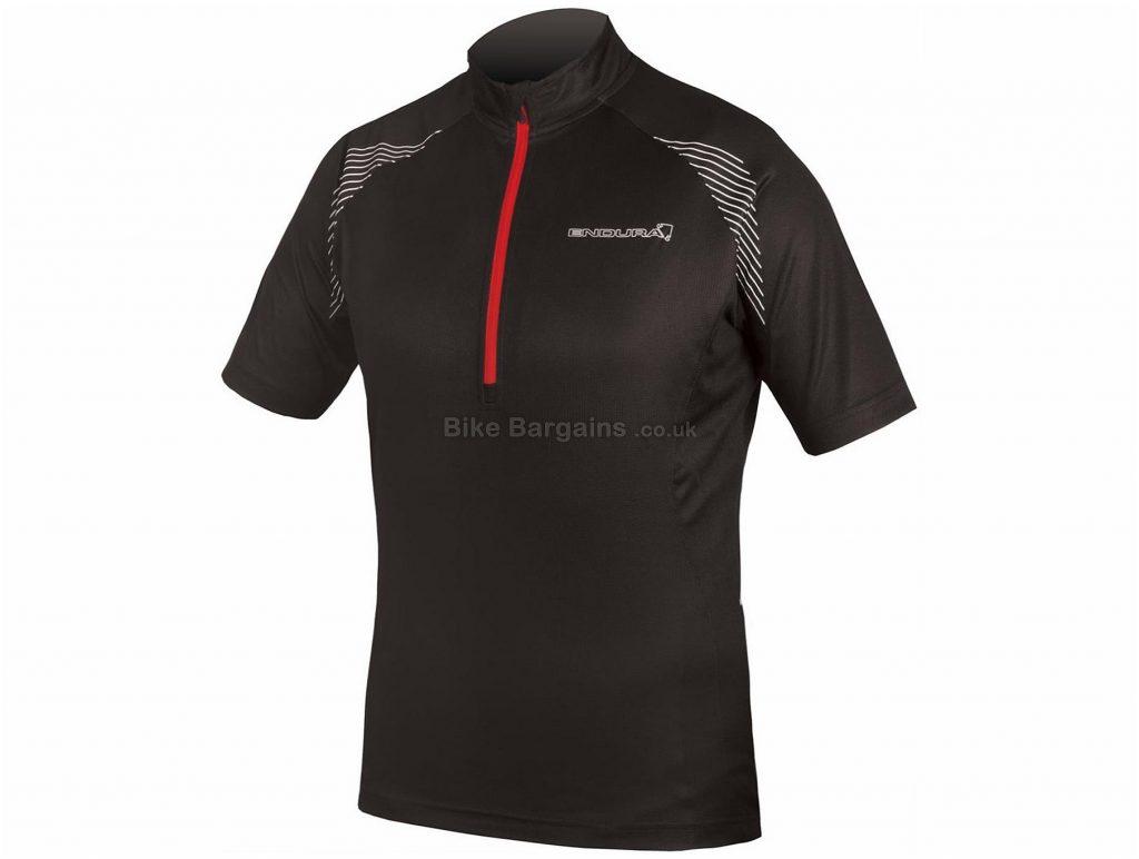 Endura Xtract II Short Sleeve Jersey 2017 S,M, Black, Short Sleeve