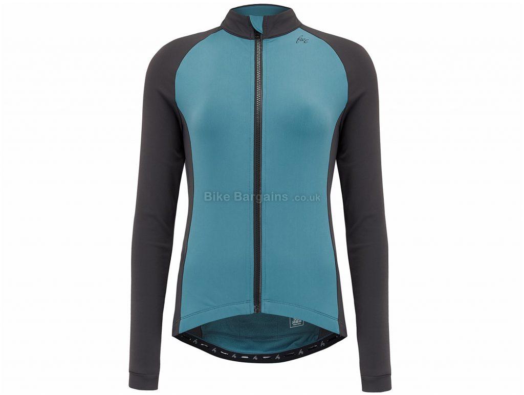 FWE Ladies Roubaix LTR Long Sleeve Jersey XS,S,M,L,XL,XXL, Blue, Long Sleeve