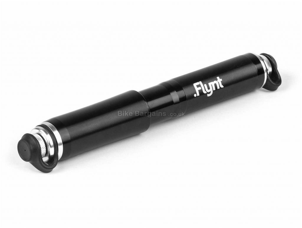 Flynt HP1.RD Road Bike Pump Black, 120psi, 100g, 185mm, 23mm