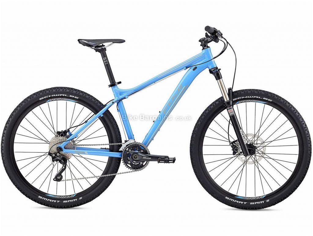 "Fuji Addy 27.5"" 1.1 Ladies Alloy Hardtail Mountain Bike 2018 19"", Blue, Alloy, 27.5"", 13.43kg, 20 Speed, 100mm"