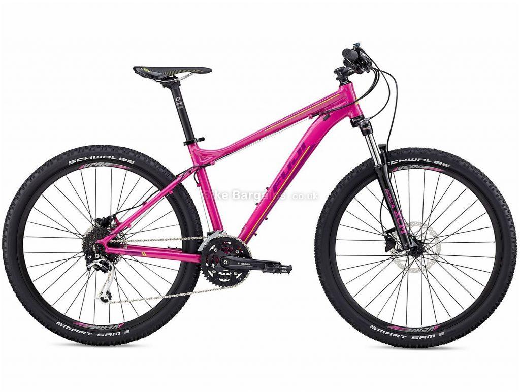 """Fuji Addy 27.5"""" 1.3 Ladies Alloy Hardtail Mountain Bike 2018 19"""", Purple, Alloy, 27.5"""", 14.06kg, 27 Speed, 100mm"""