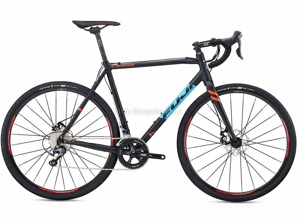 Fuji Cross 2.1 Alloy Cyclo-Cross Bike 2018 60cm, Blue, Alloy, 700c, 10.57kg, 20 Speed