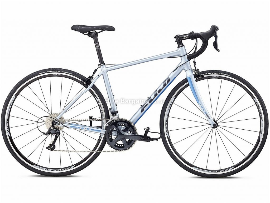 Fuji Finest 2.1 Alloy Road Bike 2018 44cm, Silver, Alloy, 700c, 9.98kg, 18 Speed, Calipers