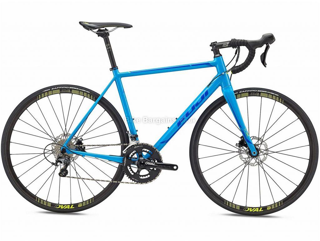 Fuji Roubaix 1.1 Disc Alloy Road Bike 2018 52cm, Blue, Alloy, 700c, 8.90kg, 22 Speed, Disc