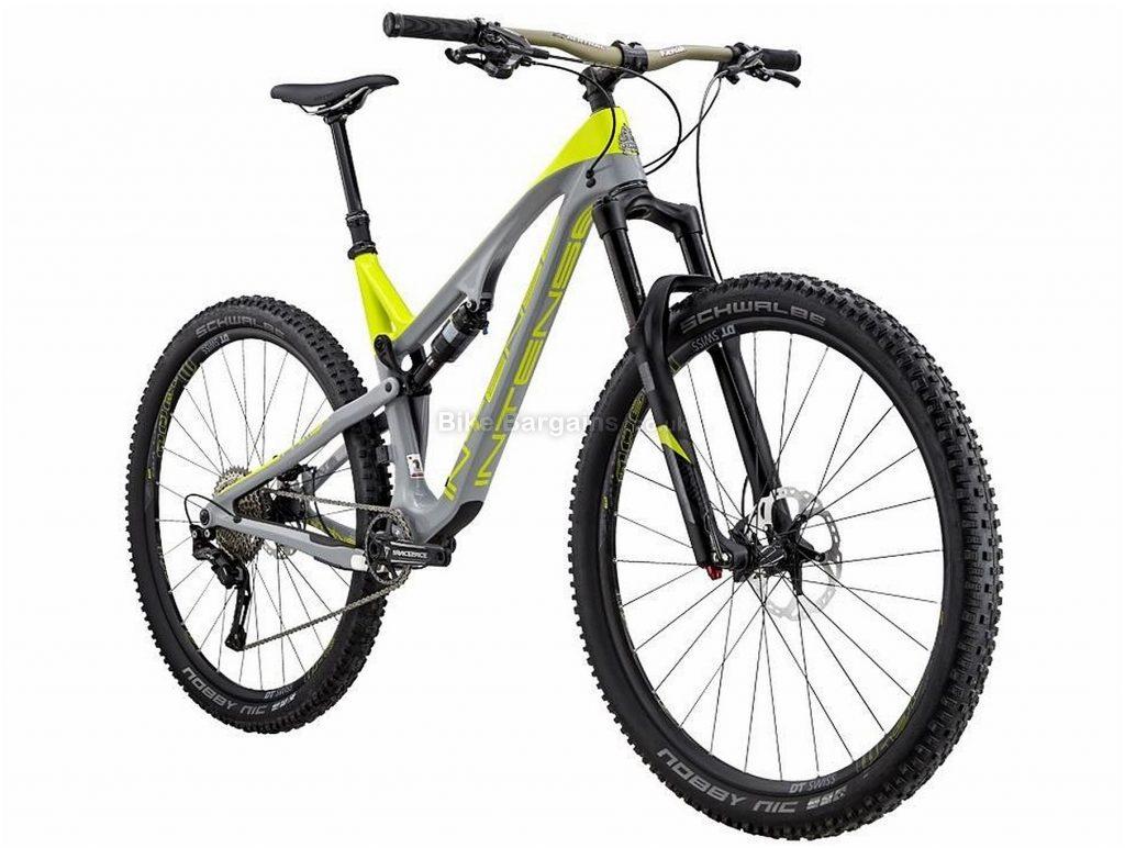 """Intense Primer 29C Carbon Full Suspension Mountain Bike 2017 L, Grey, Yellow, Carbon, Full Suspension, 29"""", 11 Speed"""
