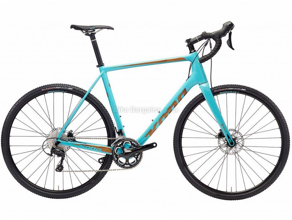 Kona Major Jake Disc Carbon Road Bike 2018 52cm, Blue, Carbon, 700c, 22 Speed, Disc