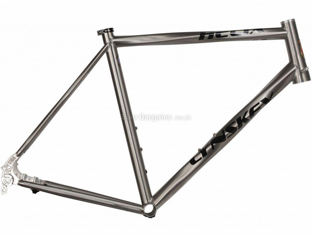 Lynskey Helix Sport Disc Titanium Road Frame 2018 52cm, Silver, Titanium, 700c, Disc Brakes