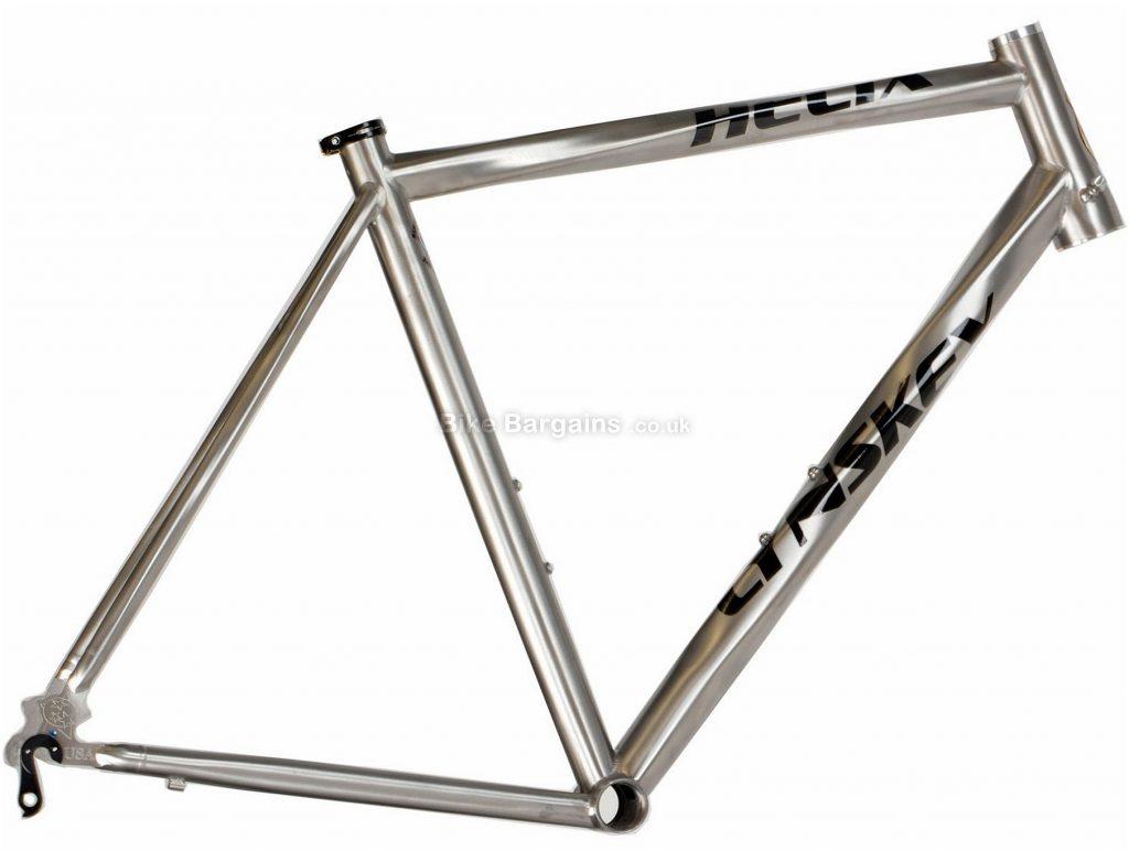 Lynskey Helix Sport Titanium Road Frame 2018 54cm, Silver, Titanium