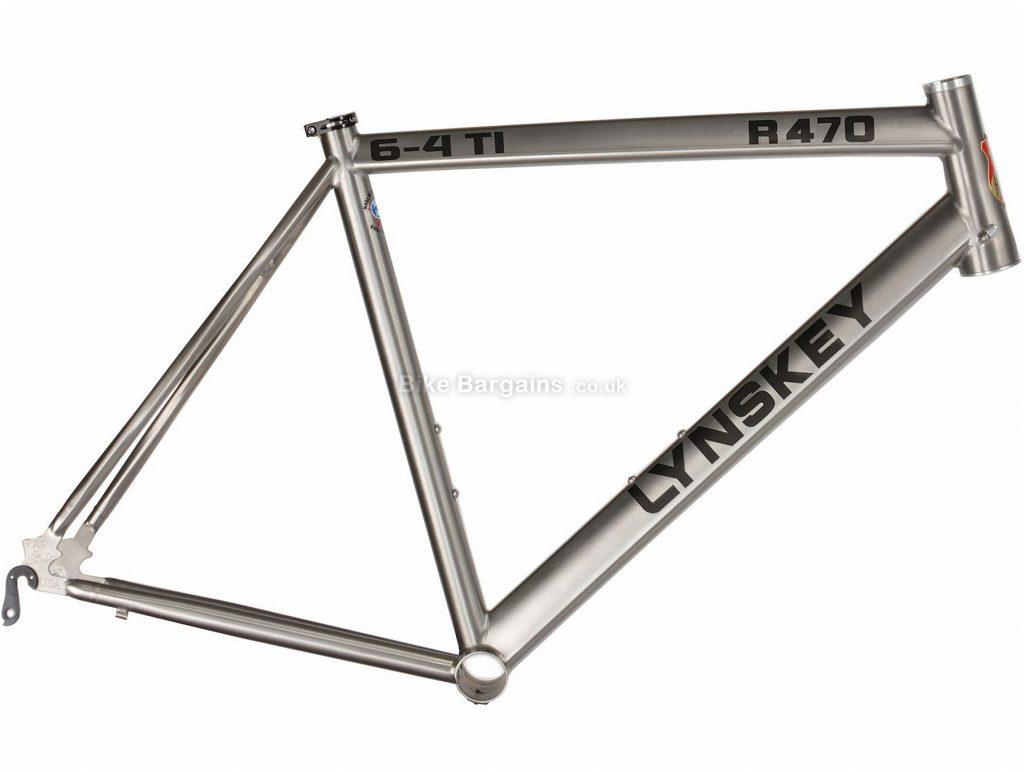 Lynskey R470 Titanium Road Frame 2018 50cm, Silver, Titanium, 700c, Calipers