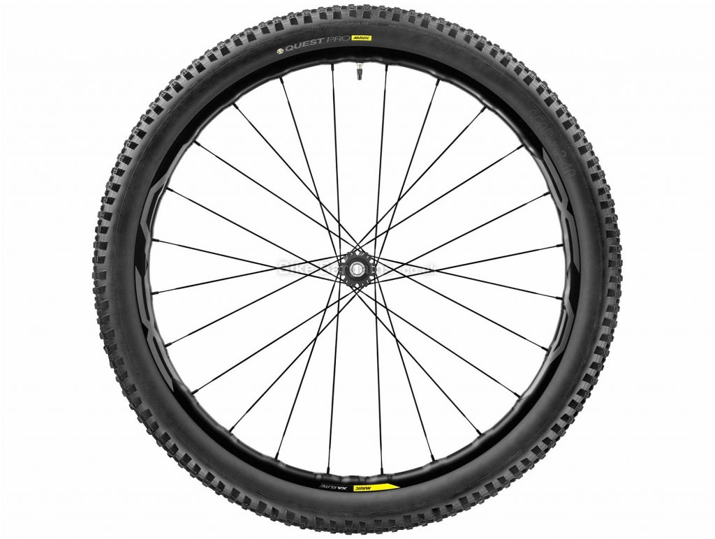 "Mavic XA Elite Boost MTB Front Wheel 27.5"", 29"", Green, Blue"