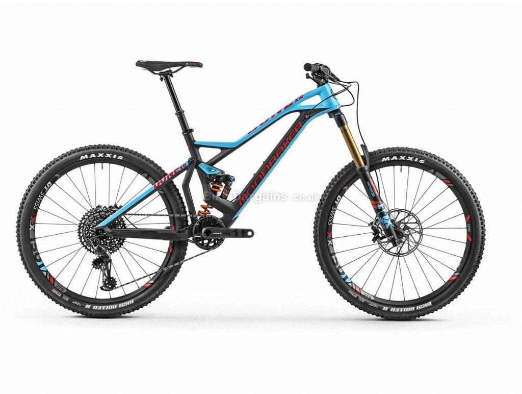 "Mondraker Dune Carbon XR Enduro 27.5"" Carbon Full Suspension Mountain Bike 2018 XL, Grey, Blue, Full Suspension, Carbon, 27.5"", 12 Speed, 13.3kg"