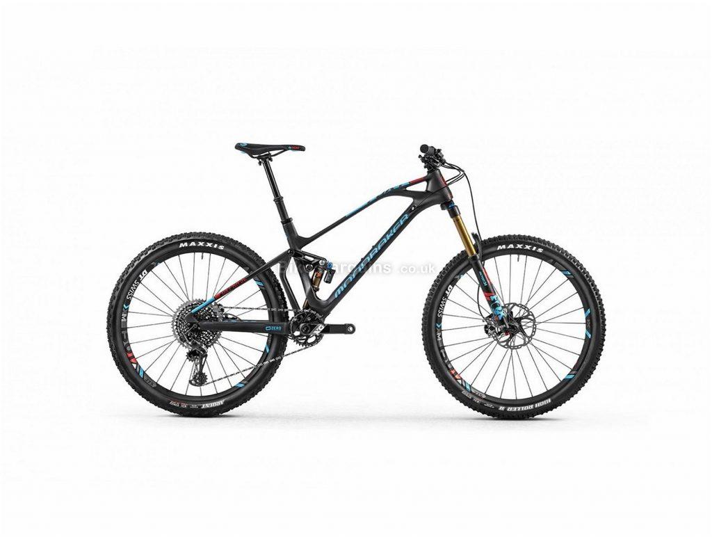 "Mondraker Foxy Carbon RR SL Trail 27.5"" Carbon Full Suspension Mountain Bike 2018 L, Black, Blue, Full Suspension, Carbon, 27.5"", 12 Speed, 12.1kg"