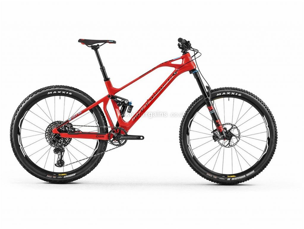 "Mondraker Foxy Carbon RR Trail 27.5"" Carbon Full Suspension Mountain Bike 2018 M, Red, Blue, Full Suspension, Carbon, 27.5"", 12 Speed, 13.1kg"