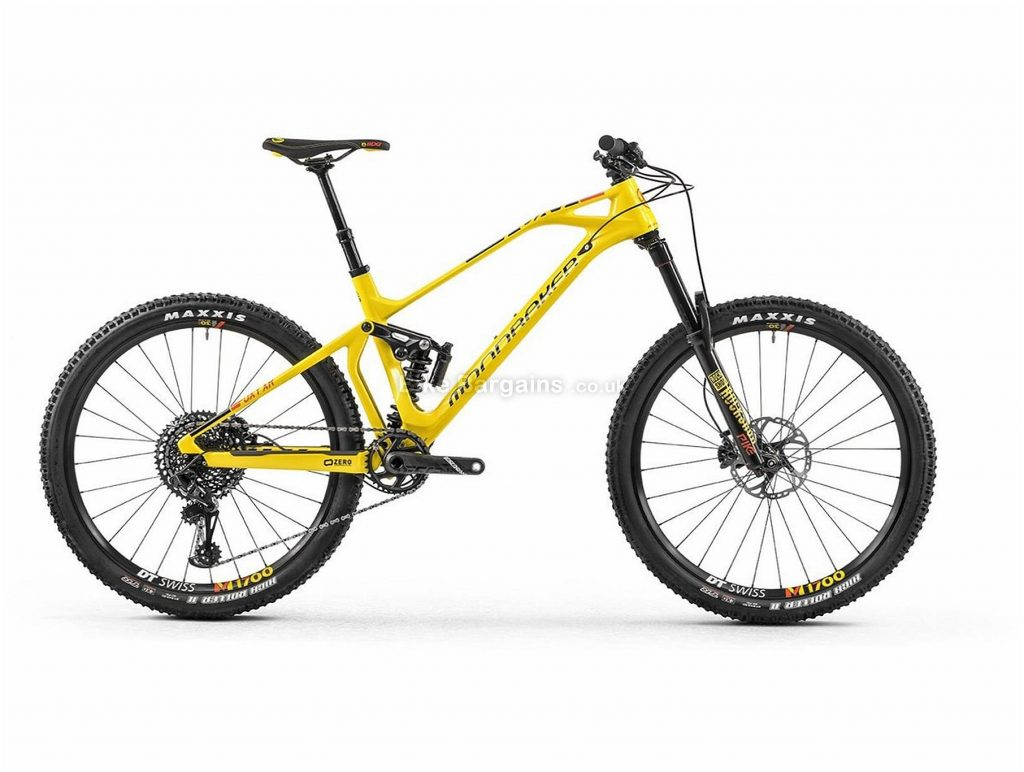 "Mondraker Foxy Carbon XR Enduro 27.5"" Carbon Full Suspension Mountain Bike 2018 L, Yellow, Orange, Full Suspension, Carbon, 27.5"", 12 Speed, 13.6kg"
