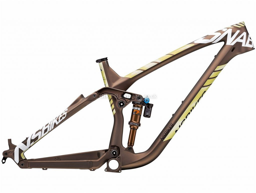 "NS Bikes Snabb 160 Carbon Full Suspension MTB Frame 2018 L, Black, Carbon, 27.5"", 160mm, Full Suspension, 2.65kg"