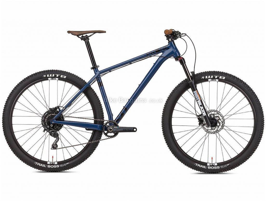 """Octane Prone 29"""" Trail Alloy Hardtail Mountain Bike 2019 L, Blue, Black, Alloy, 29"""", 10 Speed, 120mm"""