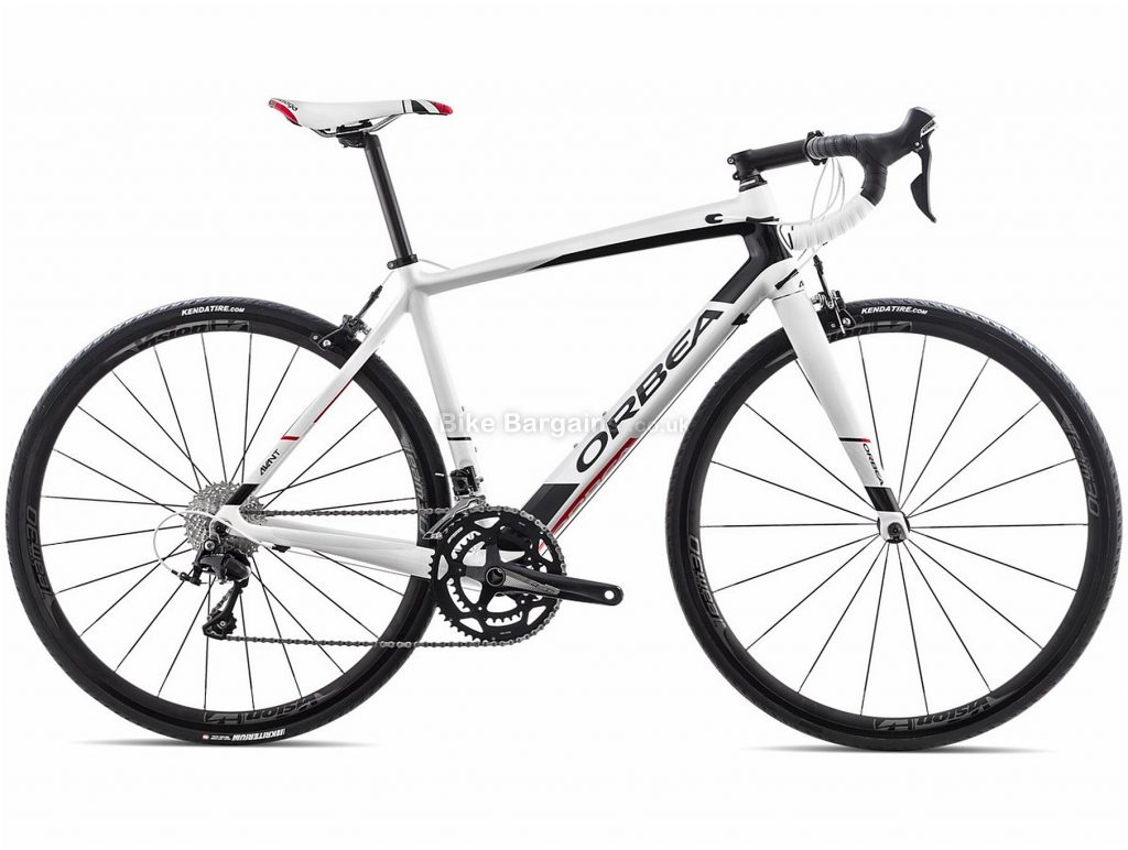 Orbea Avant M30 Carbon Road Bike 2018 53cm, Black, White, Carbon, 700c, 22 Speed, Caliper Brakes