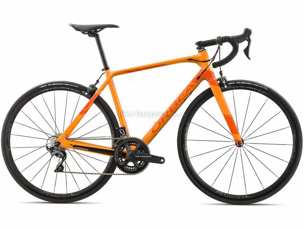 Orbea Orca M20 Carbon Road Bike 2018 60cm, White, Black, Red, Carbon, 700c, 22 Speed, Caliper Brakes