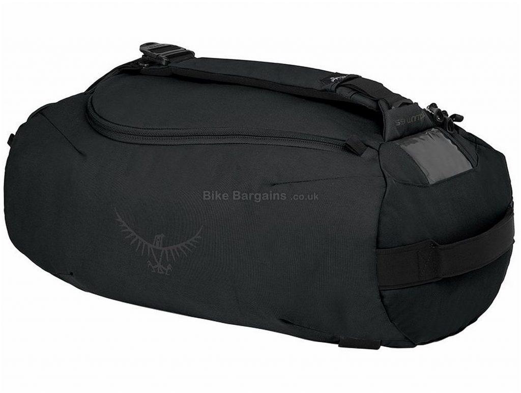 Osprey Trillium 65 Litre Duffel Bag 2018 Black, Grey, 65 Litres, 790g, 67cm, 31cm, 37cm