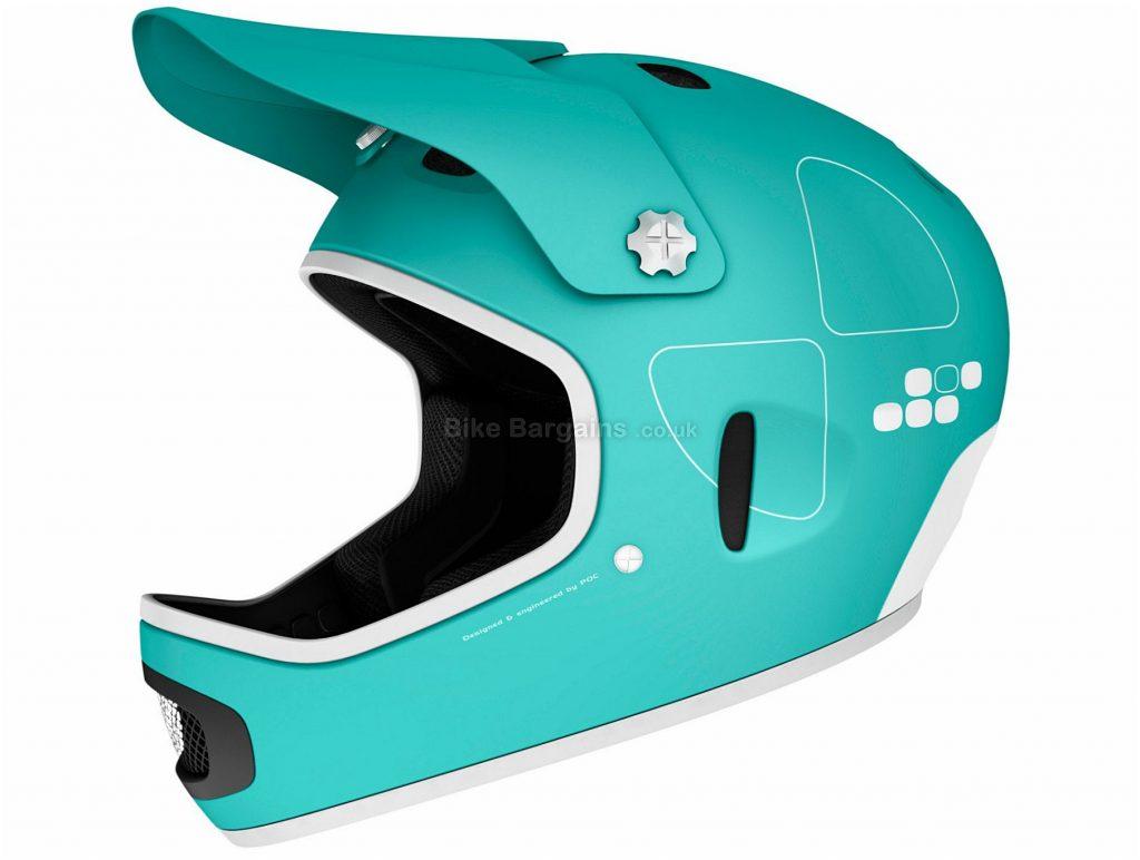 POC Cortex Flow Full Face MTB Helmet 2015 S,M, Green, Full Face, 7 vents, 1kg